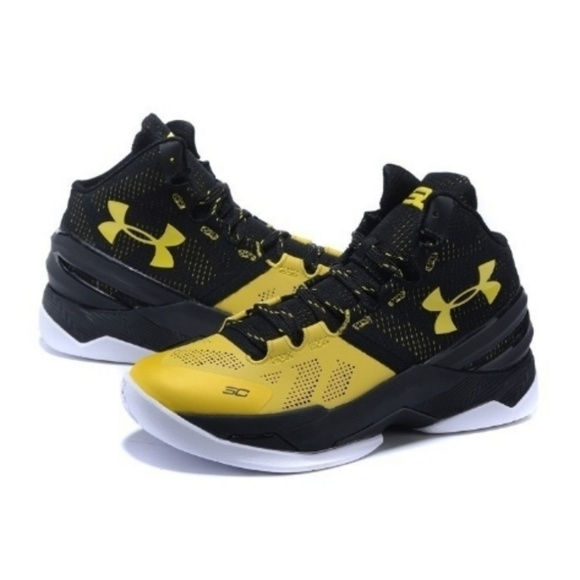 Stephen Curry yellow   black bb shoes youth 5. M 5afb924172ea8886af8057ca bbf707c9e
